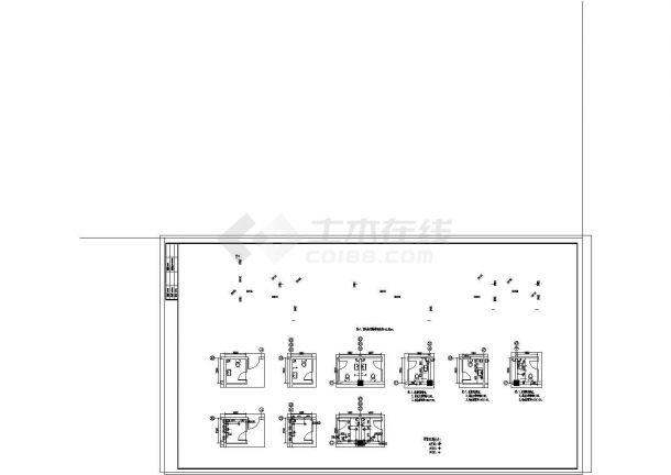 大型综合性建筑给排水图纸(餐饮 娱乐 宾馆 同层排水)-图一