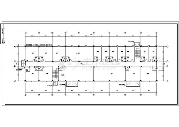 大型综合性建筑给排水图纸(餐饮 娱乐 宾馆 同层排水)-图二