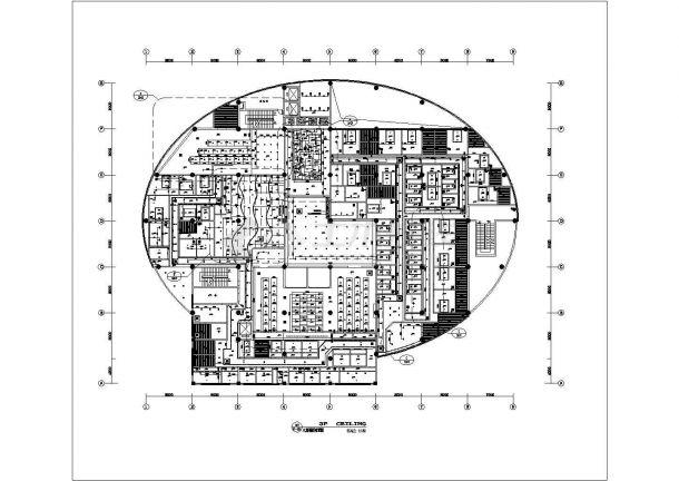 某地大型洗浴会所结构设计施工图纸-图一