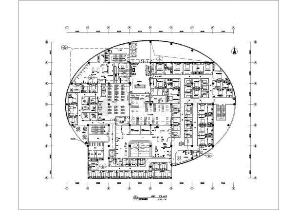 某地大型洗浴会所结构设计施工图纸-图二