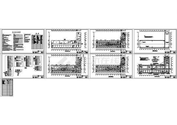 某五层办公楼电气施工设计图-图一