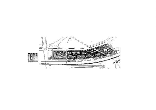 金格宏业市场景观绿化设计图纸-图二