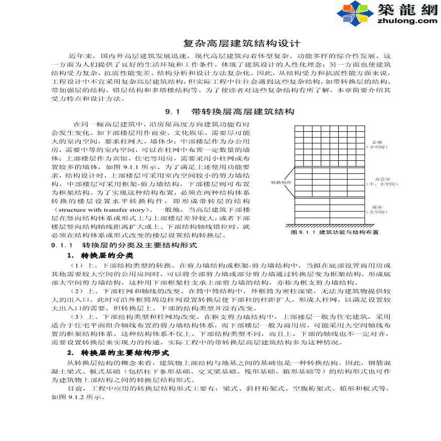 PKPM软件应用之复杂高层建筑结构设计-图一
