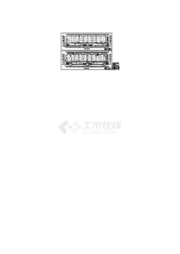 某地下商场监控、报警平面图(cad,2张图纸)-图二