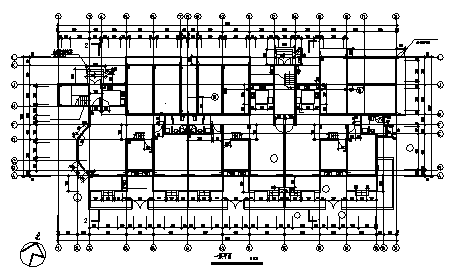 最新整理五套4000平多层经典住宅楼建筑设计图资料合集-图一