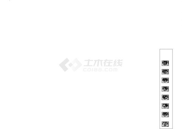 [重庆]某地多层办公楼全套集中空调系统设计施工cad图-图一
