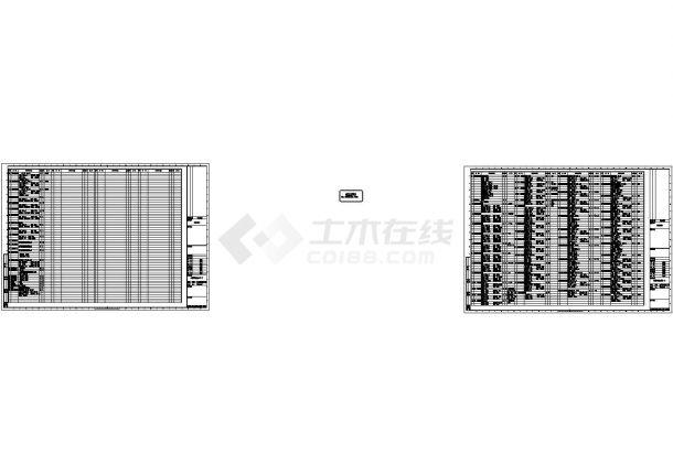 [上海]某地高层办公建筑空调通风及防排烟系统设计施工cad图-图二