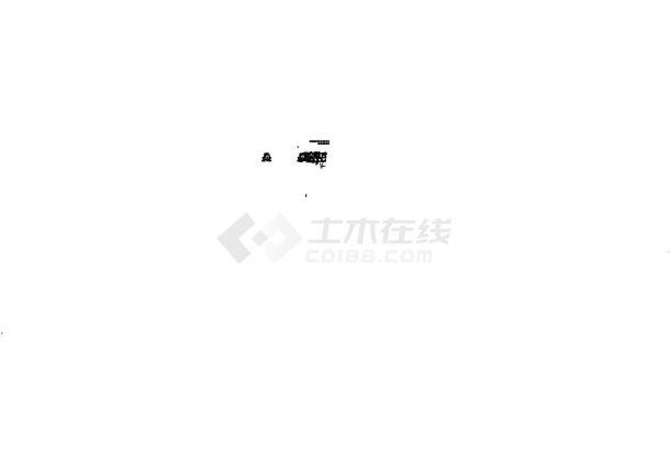 [上海]超高层商业办公楼空调通风及防排烟系统设计施工图(北区大院设计)-图一
