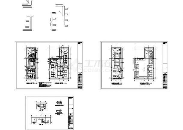 [江苏]某地高层科技办公中心空调通风及防排烟系统设计施工图(冷热源)-图二