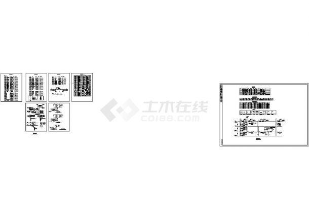 [河北]某地多层办公楼空调通风及防排烟系统设计施工图(采暖设计)-图二