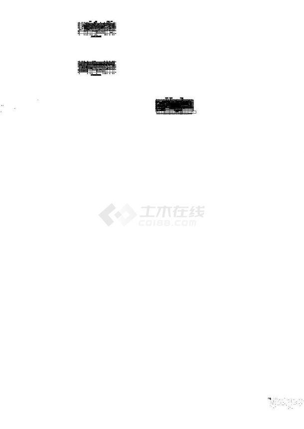 [广东]超高层商业办公综合楼暖通空调系统设计施工cad图(著名院设计水蓄冷系统)-图一