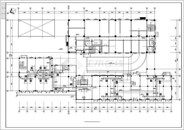 【最新】某娱乐城中央空调系统设计CAD图纸-图一
