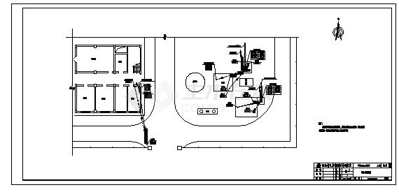 220kV变电站电缆敷设全套施工cad图,共十六张-图一