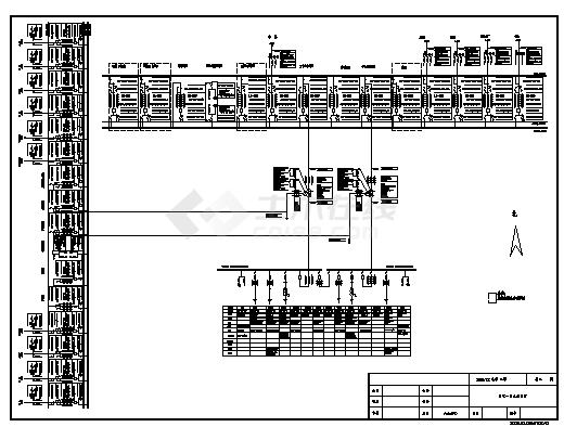 220kV变电站工程全套设计cad图,共十二张-图二
