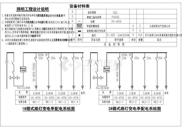 宿州市某地道路照明平面设计规划cad图纸,共一份资料-图二