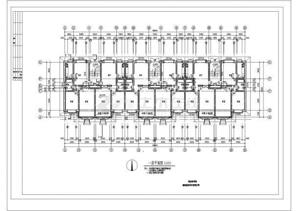 某市高档欧式风别墅建筑设计图纸-图二