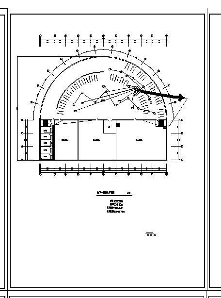 长春休闲宾馆弱电系统设计施工cad图纸-图二