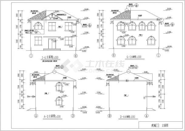 土木工程毕业设计_多套学生宿舍楼建筑全套毕业设计资料(含说明书、开题报告、施工图)-图二