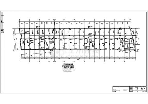土木工程毕业设计_办公楼设计_多套框架结构办公楼建筑全套毕业设计资料(含说明书、开题报告、施工图)-图一