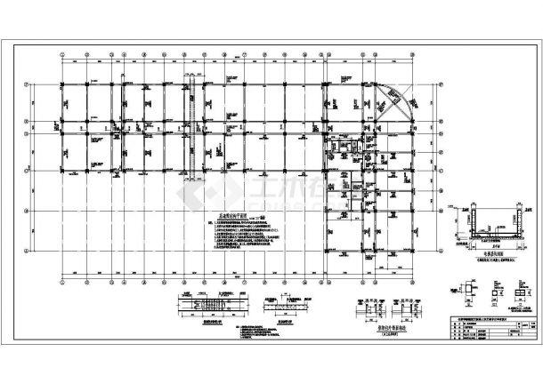 土木工程毕业设计_多套框架结构小型商场全套毕业设计资料(含说明书、开题报告、施工图)-图二