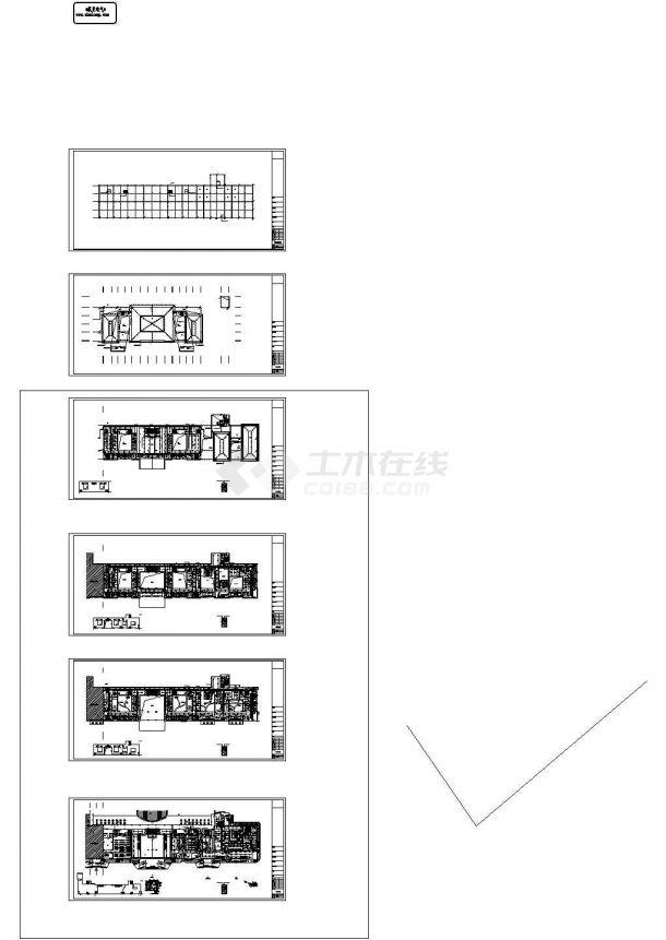 [重庆]医院门诊楼强弱电施工设计图全套共22张-图二