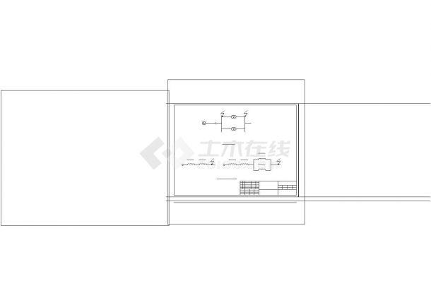 某区10KV配电系统设计规划cad图纸,共一份图纸-图一