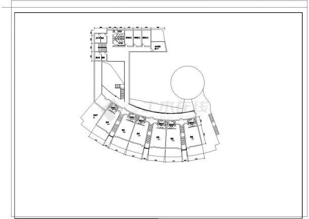 某幼儿院某班建筑设计施工图纸-图一