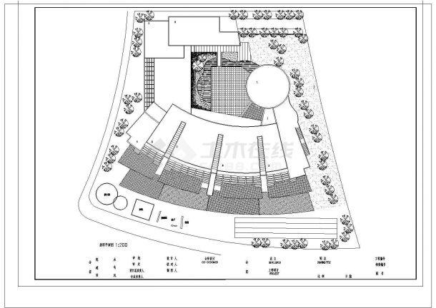 某幼儿院某班建筑设计施工图纸-图二
