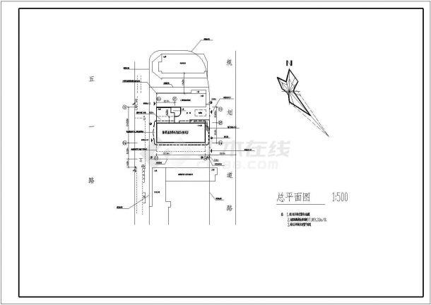 高层建筑窗设计规范_某剪力墙结构高层三星级宾馆设计cad全套建筑施工图(含设计 ...