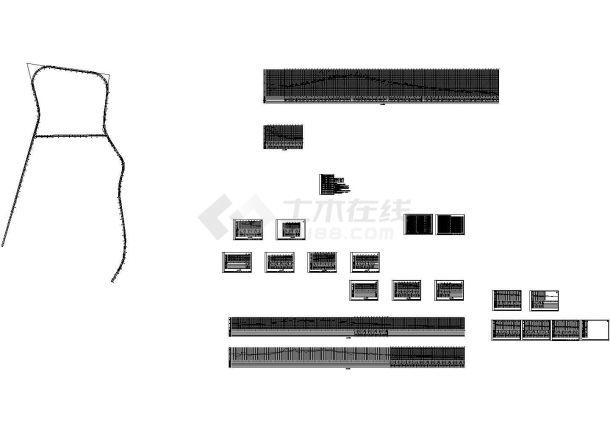 某城市道路新建工程管线 系统图CAD版本-图一