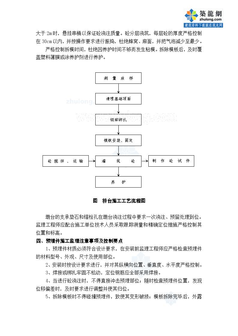 东北铁路某段监理作业指导书桥台施工-图二