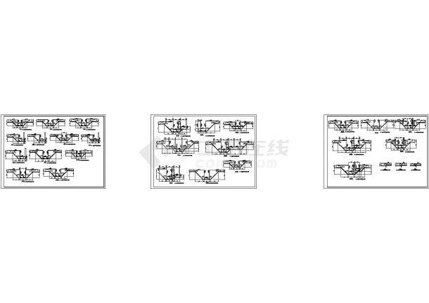 办公楼设计_某高层办公楼建筑框架结构设计施工cad图纸-图二