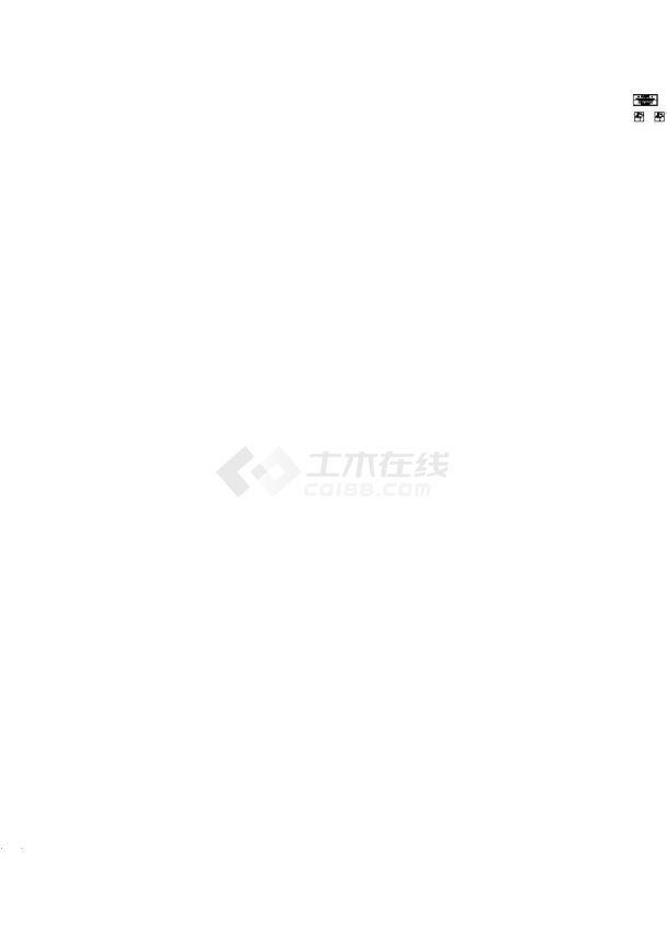 南京某湖五洲给水排水 规划图cad-图一