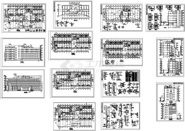 医院门诊及住院楼全套建筑设计施工图-图一