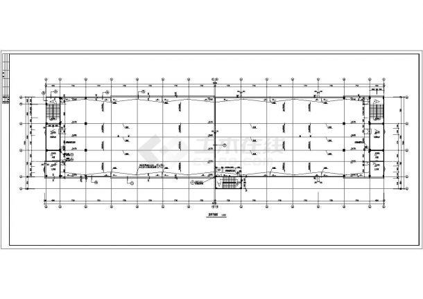 某地大型现代化厂房建筑施工图纸-图一