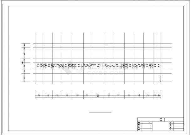 土木工程毕业设计_六层框架结构中学教学楼毕业设计cad施工图(含建筑图结构图任务书)-图一