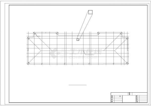 土木工程毕业设计_六层框架结构中学教学楼毕业设计cad施工图(含建筑图结构图任务书)-图二