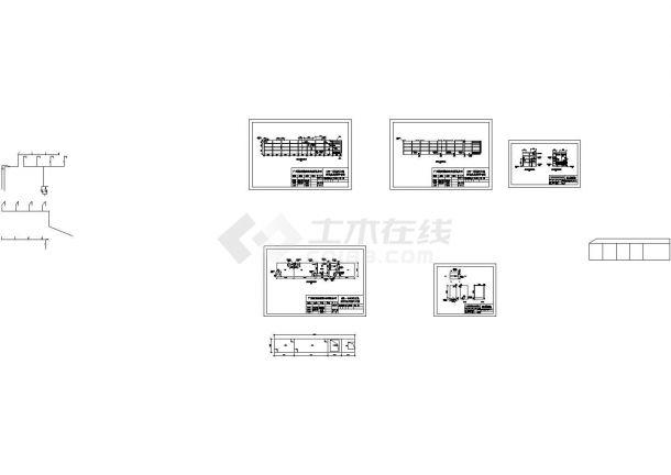 某60T_D 一体化MBR污水处理设备设计cad全套工艺施工图纸(标注详细)-图一