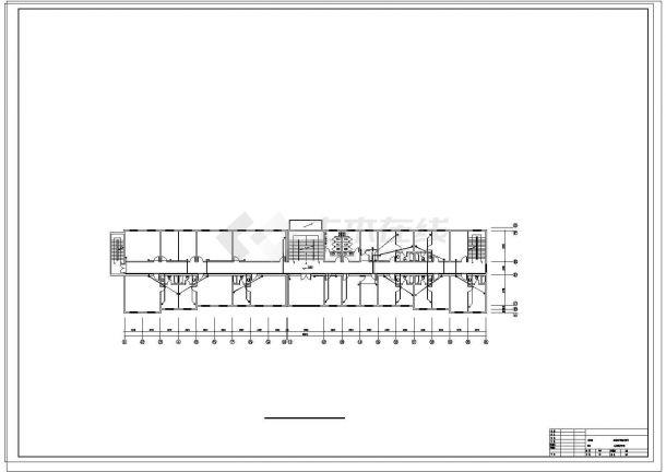 办公楼设计_某五层办公楼弱电系统设计施工cad图纸-图二