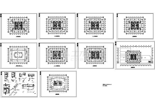 -1+26层商住楼给排水施工图(设计说明)-图一