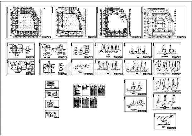 13174.01m26层商住楼给排水施工图(说明书)-图一
