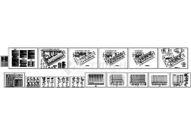 7层6090.72㎡厂区商住楼给排水施工图(设计说明)-图一