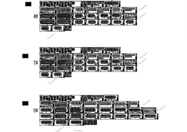 九层剪力墙结构住宅楼建筑施工图-图一