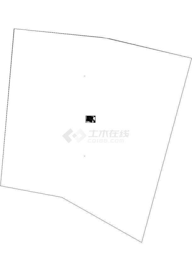 某小区管线综合 平面规划图cad-图一