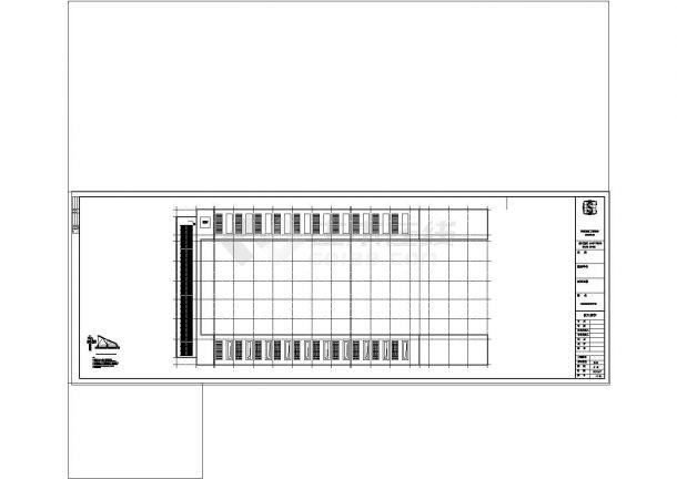 办公楼设计_【江苏】某高层办公楼给排水设计cad施工图纸-图二