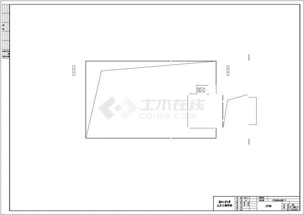 办公楼设计_某商业办公楼全套建筑设计图纸(含计算书、施工组织设计、建筑结构设计图)-图二