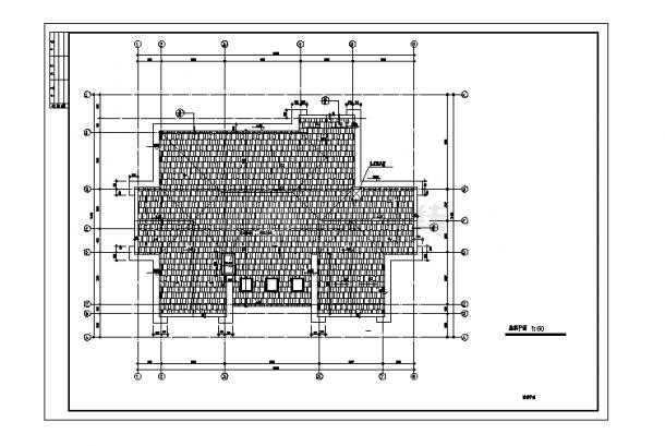 2套单家独院式别墅设计施工cad图纸-图一