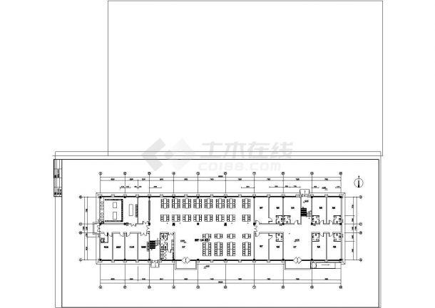 大型综合性建筑给排水施工图纸-图一