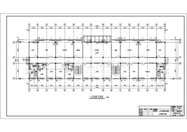 某城市气化工程生活楼及办公楼采暖全套cad施工图-图二