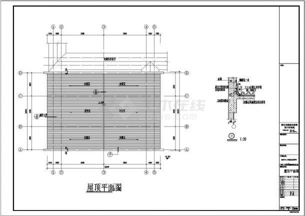 上天竺法喜讲寺建筑施工图(含建筑施工图设计总说明)-图一